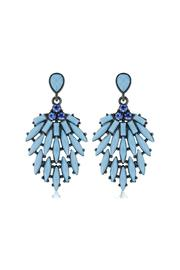 6th Borough Boutique Powder Blue Earrings - Product Mini Image