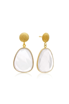 6th Borough Boutique Quartz Joelle Earrings - Product List Image
