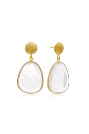 6th Borough Boutique Quartz Joelle Earrings - Product Mini Image