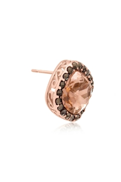 6th Borough Boutique Rose Morganite Earrings - Alternate List Image