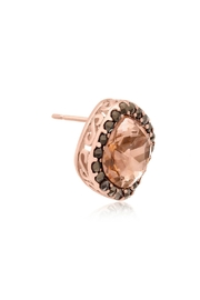 6th Borough Boutique Rose Morganite Earrings - Side cropped