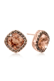 6th Borough Boutique Rose Morganite Earrings - Product Mini Image