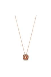 6th Borough Boutique Rose Morganite Necklace - Front full body