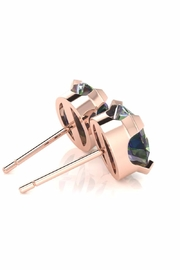 6th Borough Boutique Rose Mystic Studs - Side cropped