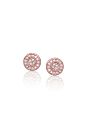 6th Borough Boutique Rose Pave Studs - Product Mini Image