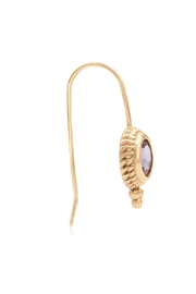 6th Borough Boutique Rose Ropework Earrings - Side cropped