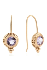 6th Borough Boutique Rose Ropework Earrings - Front full body