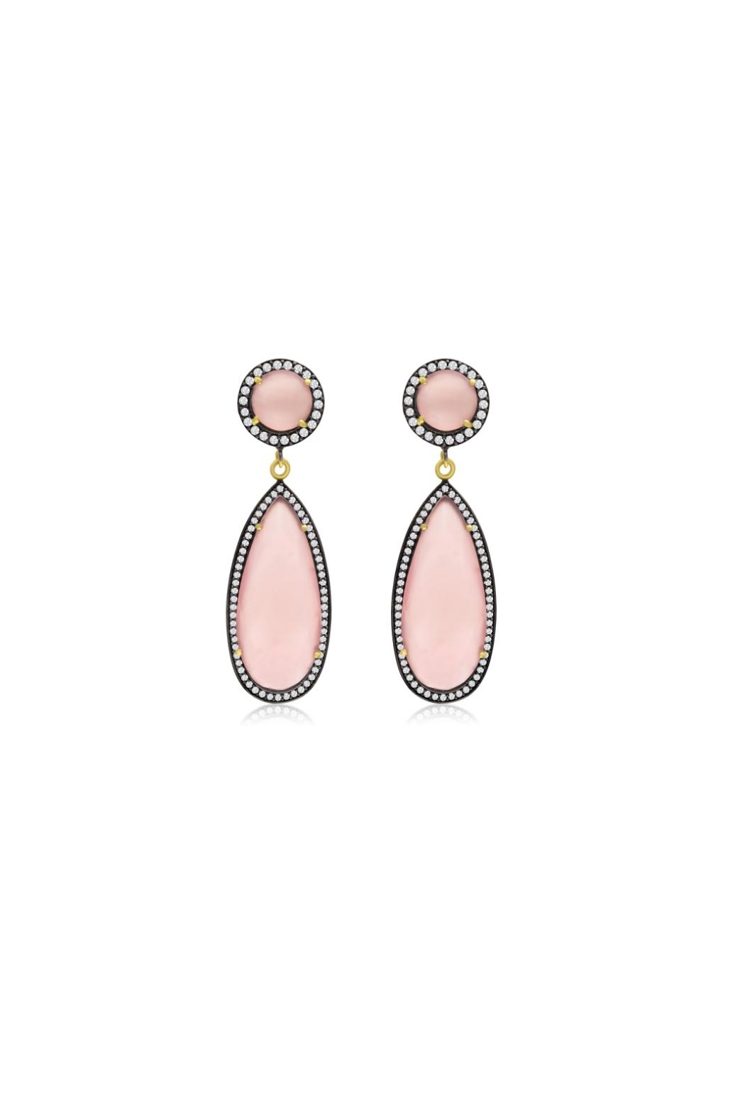 6th Borough Boutique Rose Tina Earrings - Main Image