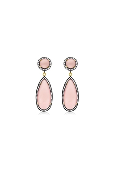 6th Borough Boutique Rose Tina Earrings - Product List Image