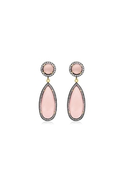 6th Borough Boutique Rose Tina Earrings - Front full body