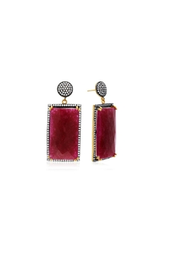 6th Borough Boutique Ruby Ella Earrings - Product List Image