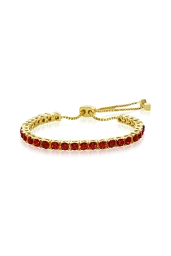 Shoptiques Product: Ruby Tennis Bracelet
