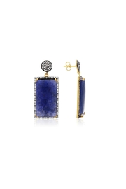 6th Borough Boutique Sapphire Ella Earrings - Front cropped