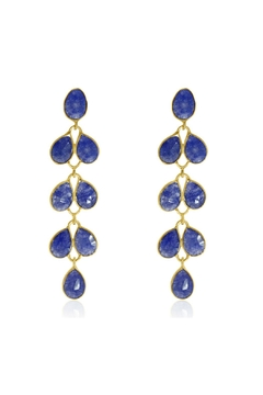 6th Borough Boutique Sapphire Maddie Earrings - Product List Image