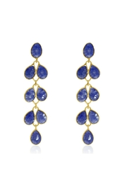 6th Borough Boutique Sapphire Maddie Earrings - Product Mini Image