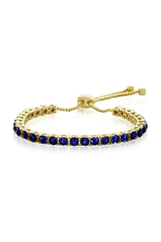 6th Borough Boutique Sapphire Tennis Bracelet - Product Mini Image