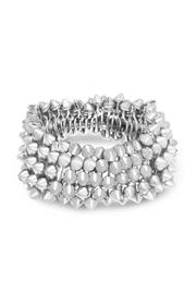 6th Borough Boutique Silver Spike Bracelet - Product Mini Image