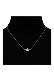 6th Borough Boutique Sterling Hamsa Necklace - Side cropped