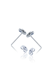 6th Borough Boutique Sterling Hamsa Studs - Side cropped