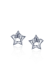 6th Borough Boutique Sterling Star Earrings - Front full body