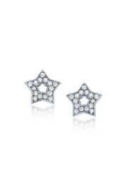 6th Borough Boutique Sterling Star Studs - Product Mini Image