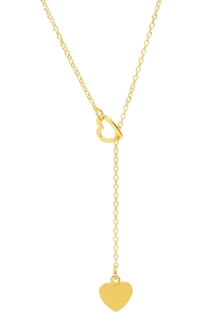 Shoptiques Product: Sweetheart Lariat Necklace