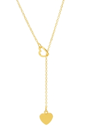6th Borough Boutique Sweetheart Lariat Necklace - Product Mini Image