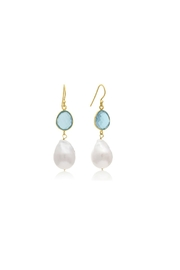 6th Borough Boutique Topaz Michelle Earrings - Product Mini Image