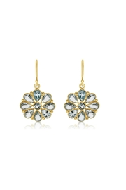 6th Borough Boutique Topaz Summer Earrings - Front cropped