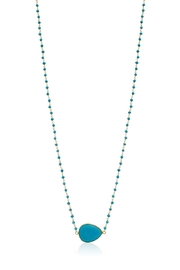 6th Borough Boutique Turquoise Harper Necklace - Product Mini Image