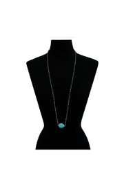 6th Borough Boutique Turquoise Harper Necklace - Side cropped