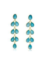 6th Borough Boutique Turquoise Maddie Earrings - Product Mini Image