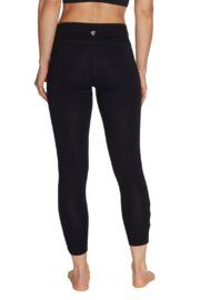 Betsey Johnson 7/8 Legging w Contrast Color Side Slits - Side cropped