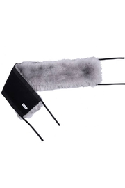 7AM Enfant 7 AM Enfant Faux Fur Marquee Tundra Canopy For Baby Carrier Or Stroller - Front cropped