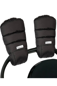 """Shoptiques Product: 7 AM Enfant Warmmuffs Plush Water Repellent Poly Insulation Stroller Gloves (H:10"""" X W:7"""" inches)"""