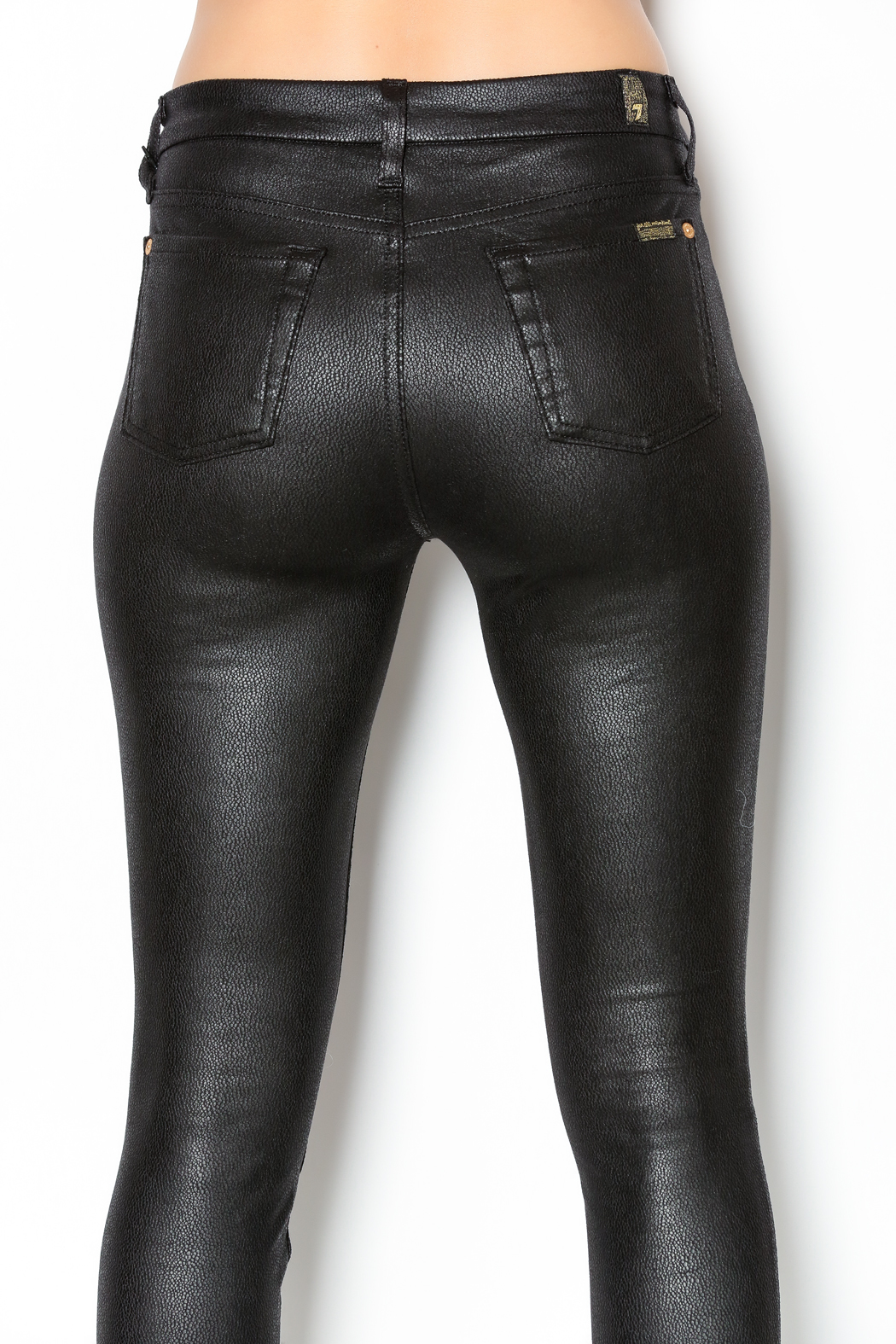 7 For all Mankind Black Crackle Skinny from Florida by Aysia's ...