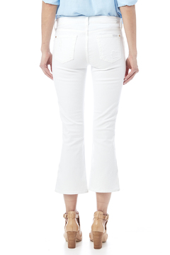 7 For all Mankind Cropped Bootcut Destroyed Jean - Alternate List Image