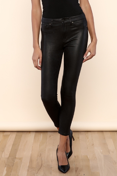 Shoptiques Product: Faux Leather Black Skinny