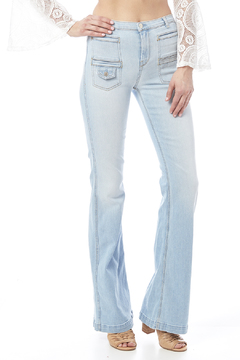 7 For all Mankind Georgia High-Waist Flare - Product List Image