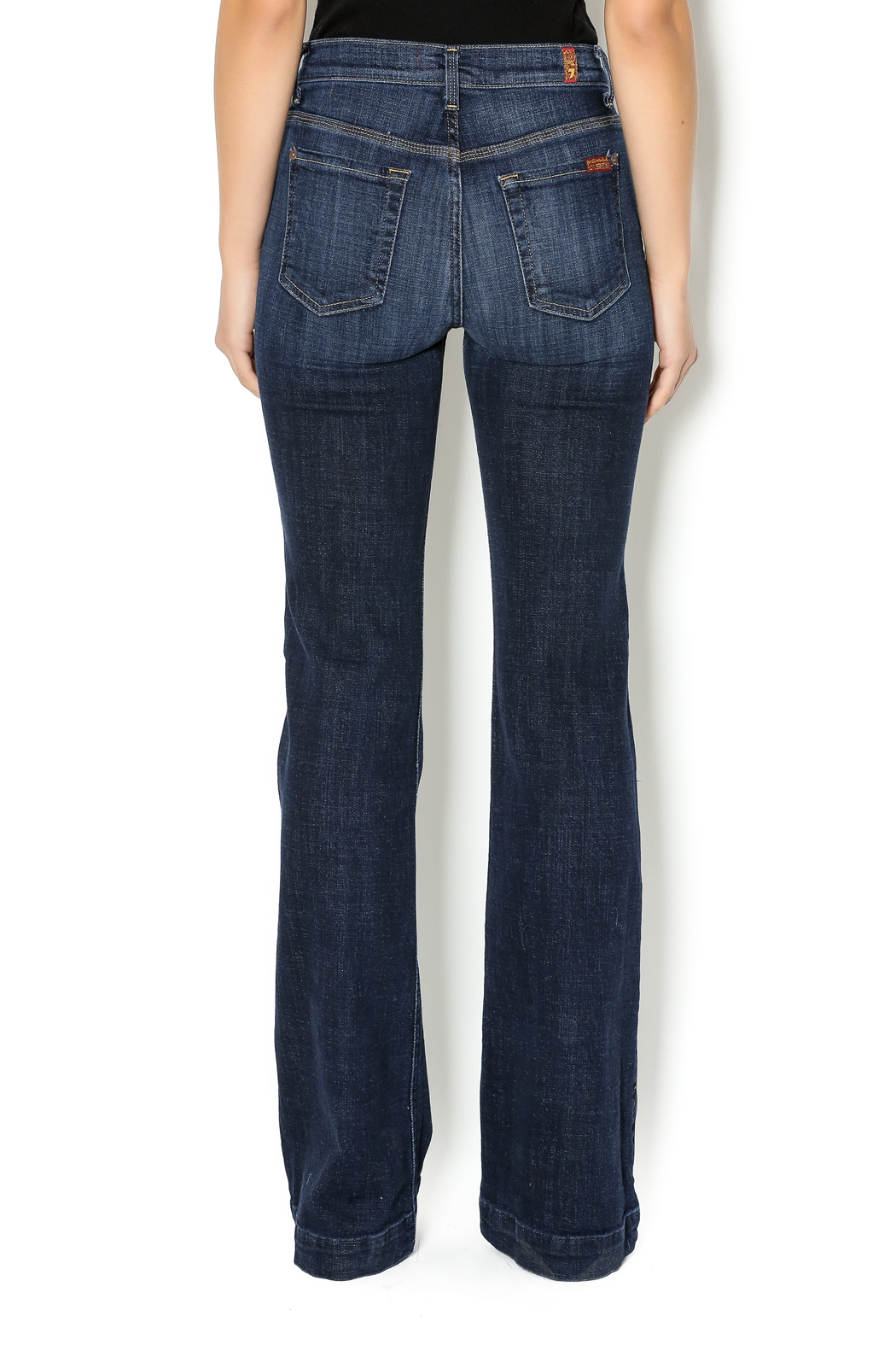 7 For all Mankind Ginger Wide Leg Trousers from Dallas by Hulla B ...