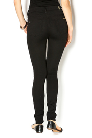 7 For all Mankind High Waist Skinnies - Back cropped