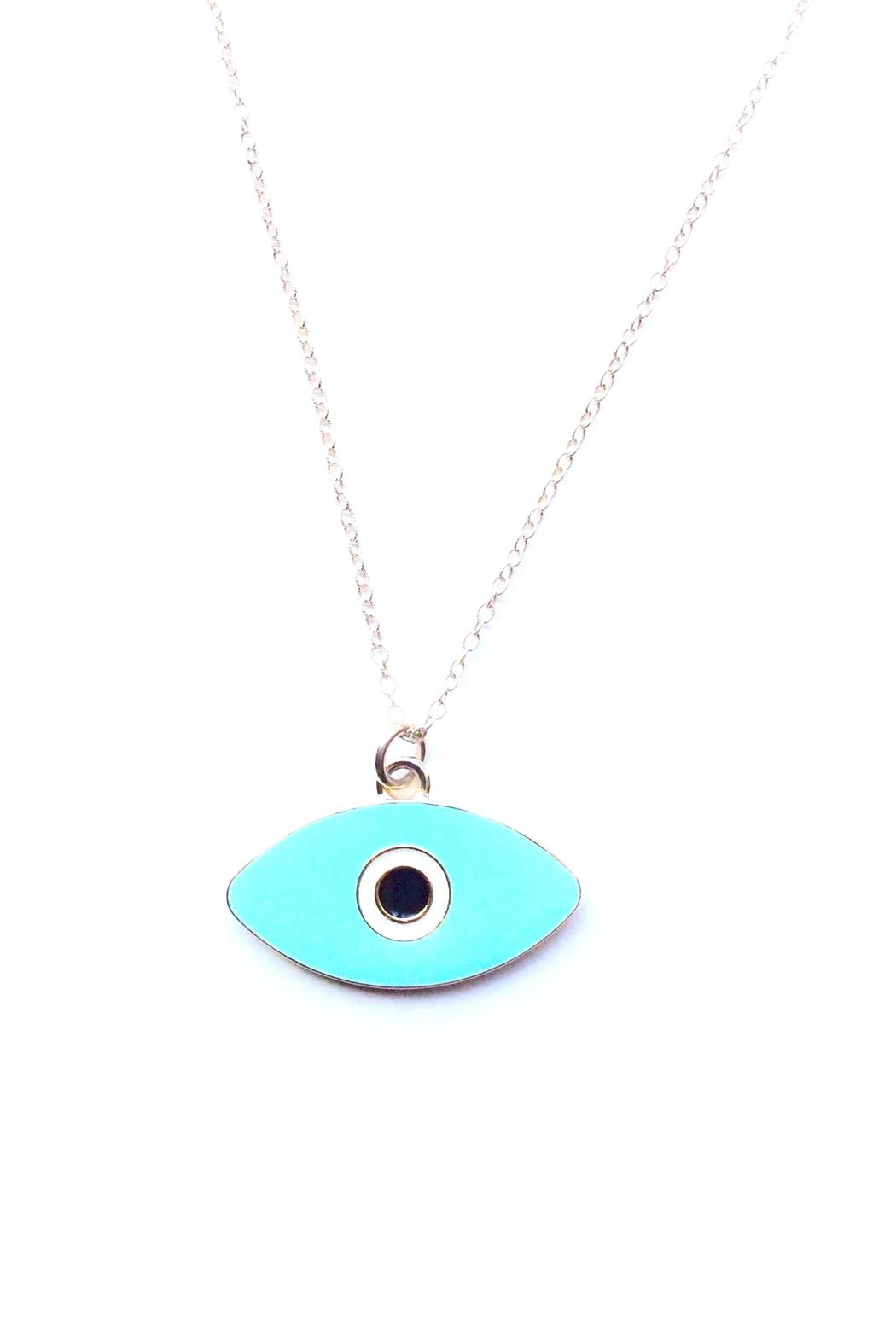 Reija Eden Jewelry Evil Eye Necklace - Main Image