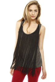Shoptiques Product: Fringe Silk Tunic