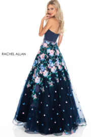 Rachel Allan 7063 - Long Gown - Product Mini Image