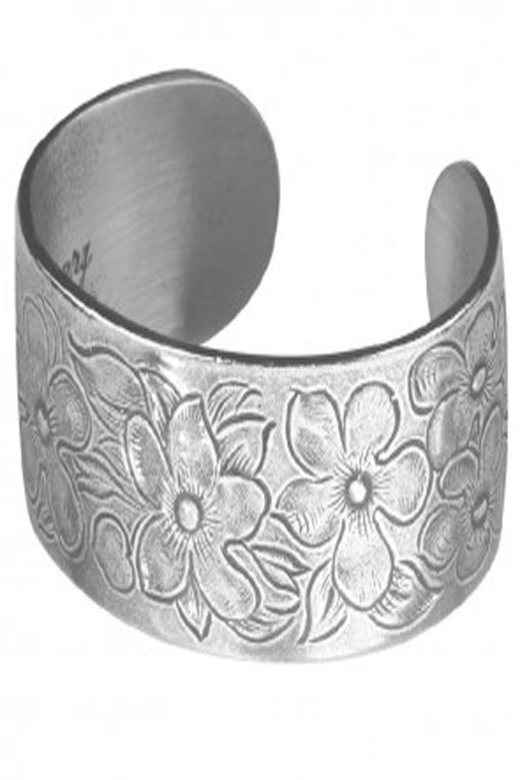 February Flower Bracelet - Front Cropped Image