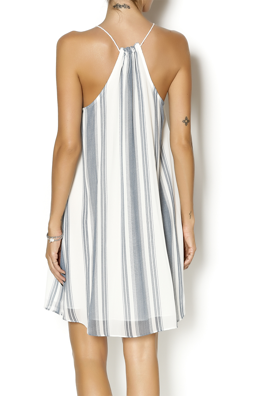 Gentle Fawn Tidal Dress - Back Cropped Image
