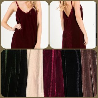 Shoptiques Product: Burgundy Velvet Dress
