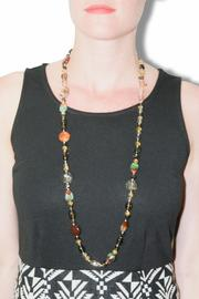 City Jewels42 Multicolor Cristal Necklace - Front cropped