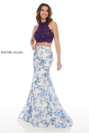 Rachel Allan 7170 - Long Gown - Product Mini Image