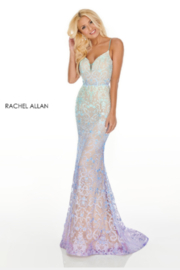 Rachel Allan 7198 - Long Gown - Product Mini Image